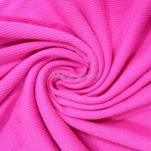 100% cotton knitted france rib fabric