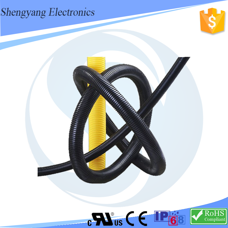 Whole sale electric cable protection corrugated pipe pvc electrical flexible hose wire conduit