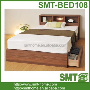 Latest bedroom furniture double bed designs buy latest for Latest double bed designs with box