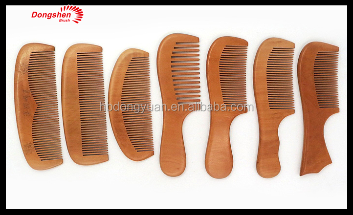 Different styles Hair brush magic carved Wooden comb