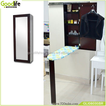 Mother loves wall mounted ironing board with mirror from goodlife