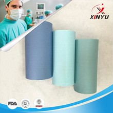water proof pe film laminated non woven fabric