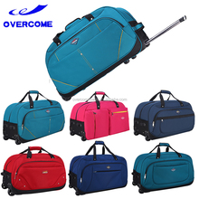 Fashionable double wheels trolley bags travel luggage bags