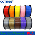2017 new1.75mm/2.85mm/3.0mm 3d pla filament 1KG with good quality and cheap price