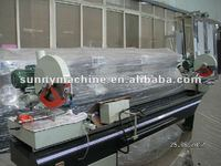 Double Mitre Cutting Saw for PVC Profile(UPVC Windows Doors Machine)Dual Head Cutting Saw Machine