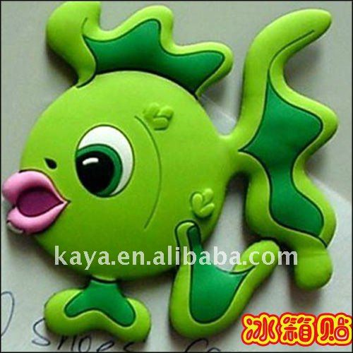 Custom novelty 3d soft pvc personalized fridge magnets