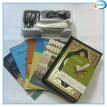 Best quality quran read pen 8GB PQ15 dictionary pen PQ15 holy quran with urdu and bangla translation