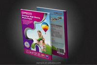 200gram glossy photo paper for inkjet printing suit for Canon/Epson/HP water-proof and bright white
