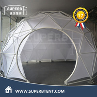Large geodesic dome tent for events wedding party