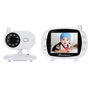 wireless baby temperature monitor video baby monitor with night vision
