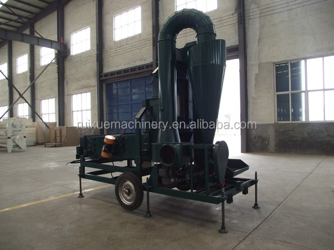 Maize Soybean Rice Wheat Seed Cleaning Processing Machine
