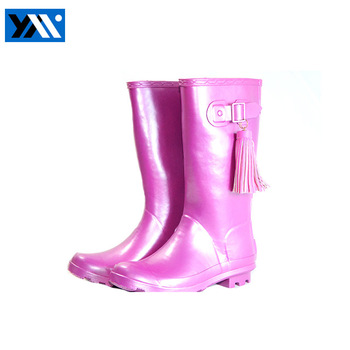 nude girl rubber rain boots