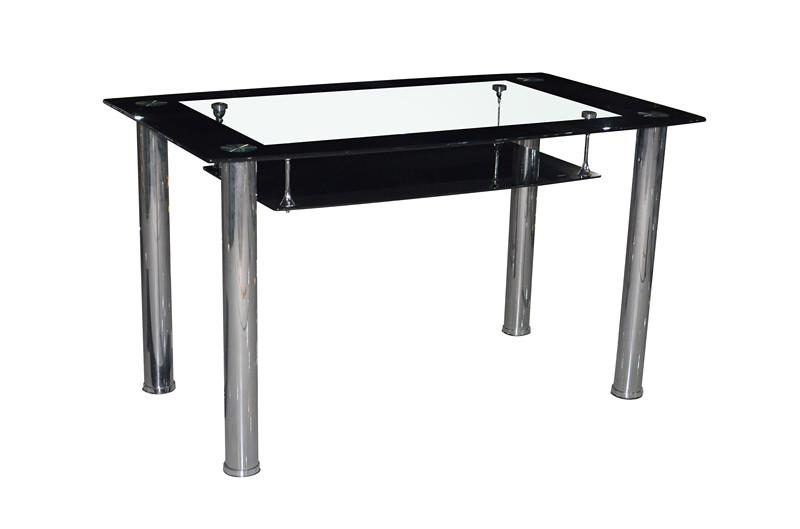 Luxury Glass Dining Table Set With Dining Room Furniture