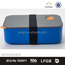 Lunch Box with Blue Color, Food Grade, FDA Approved, BPA Free , Eco-friendly Material by Cn Crown