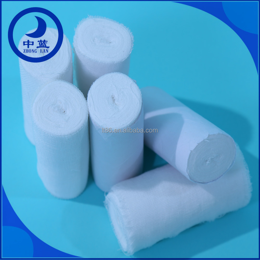 Sterilization of surgical body wrap gauze bandage/ tight bandage tube dress