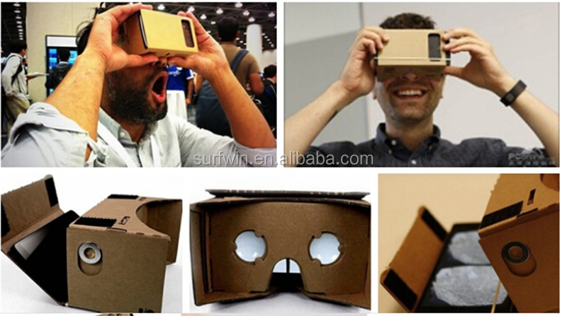 2017 Virtual Reality Viewer Google Cardboard 2.0 3D VR glasses