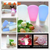 Food Grade Squeeze Silicone Liquid Bottle&Empty Cosmetic Container