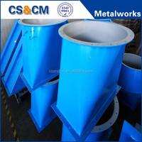 Fabrication Metal Cold Rolled Steel Customized Air Duct