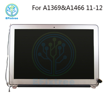 Efixtree wholesale 13 inch laptop screen assembly replacement for apple Macbook air A1369 A1466 lcd monitor
