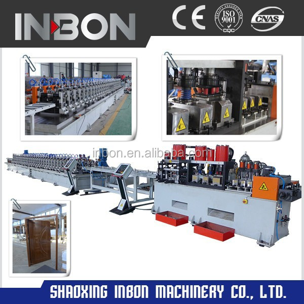 High Speed CE Approval Door Frame Roll Forming Machine/door frame machine/door frame making machine
