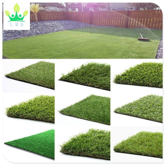Artificial Grass 30mm Astro Garden Realistic Natural Turf Fake Lawn