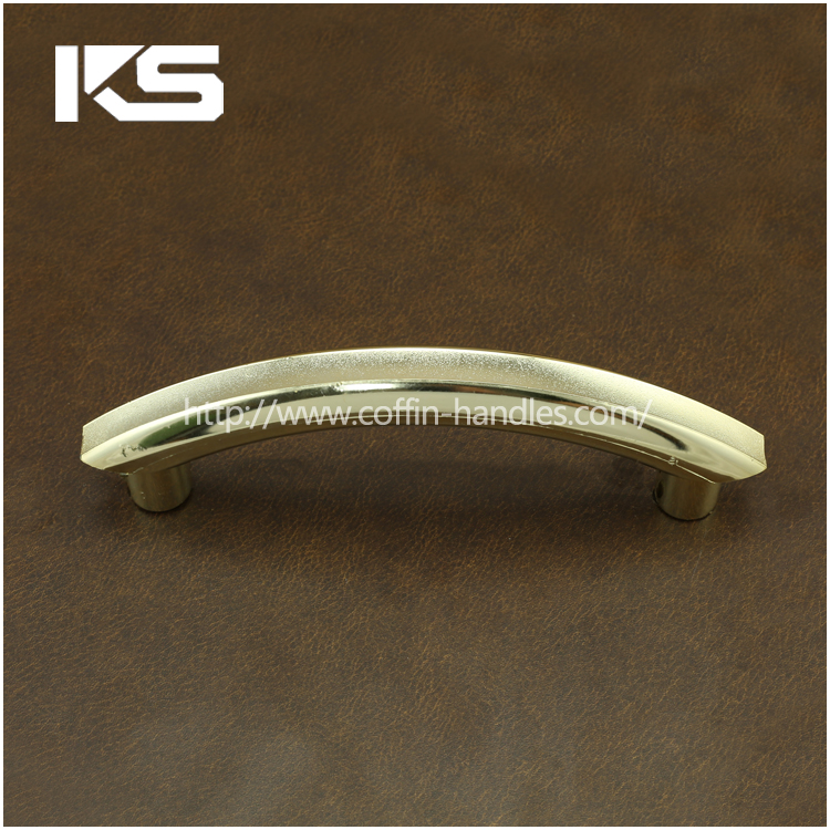 matt gold china funeral accessories factory supplier plastic coffin handle