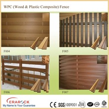 Decorative garden wpc fence whole production line OEM supplier