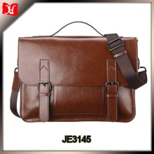 New design Vintage wholesale laptop business men leather messenger bag