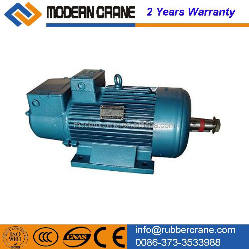 Motors crane geared motor 3phase induction gear motor for Motors used in cranes