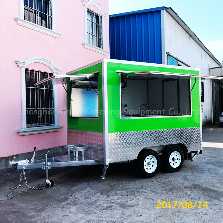 moving espresso food trailer cart crepe for sale
