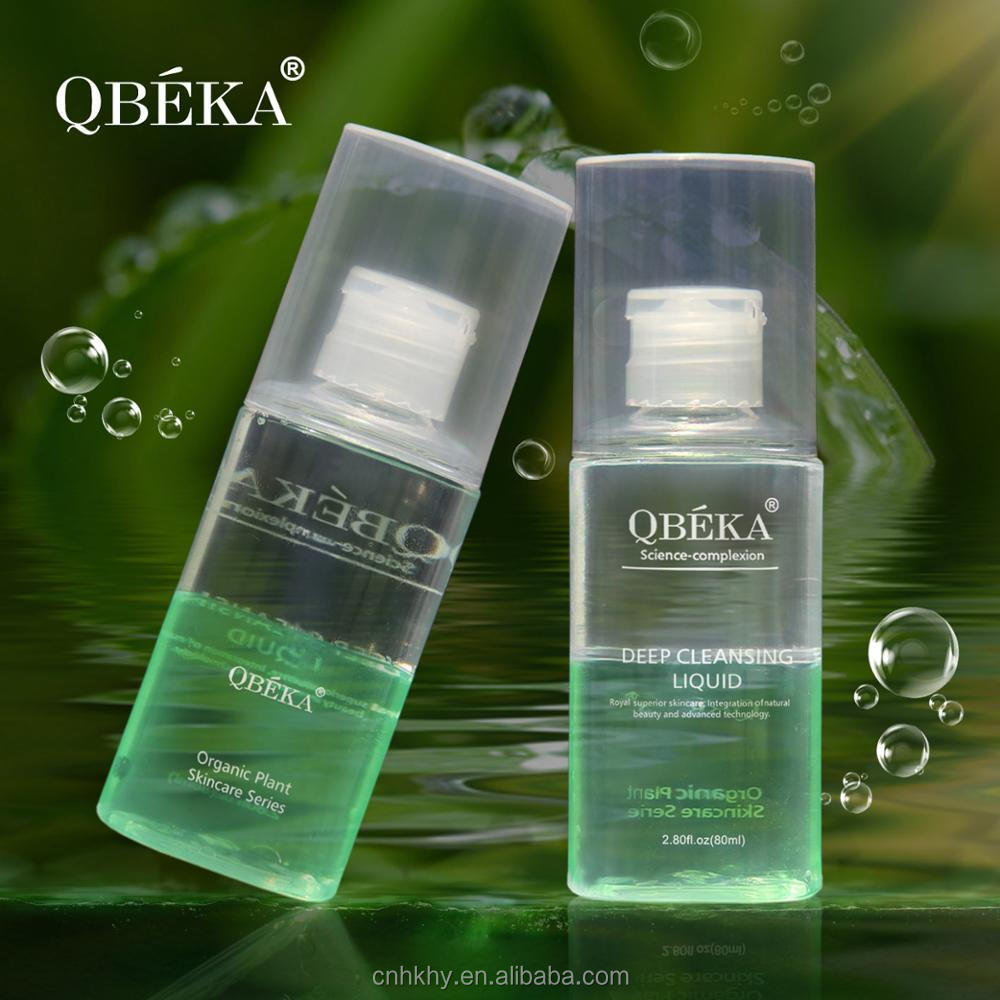 QBEKA Safe Material and High Efficacy Deep Cleansing Liquid