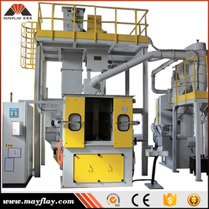 MAYFLAY Abrasive Deck Surface Prepare Shot Blasting Machine