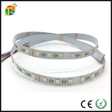 5050 Non waterproof IP20 RGBWW 60LED ce rohs certificate 24v rgbw flexible led strip