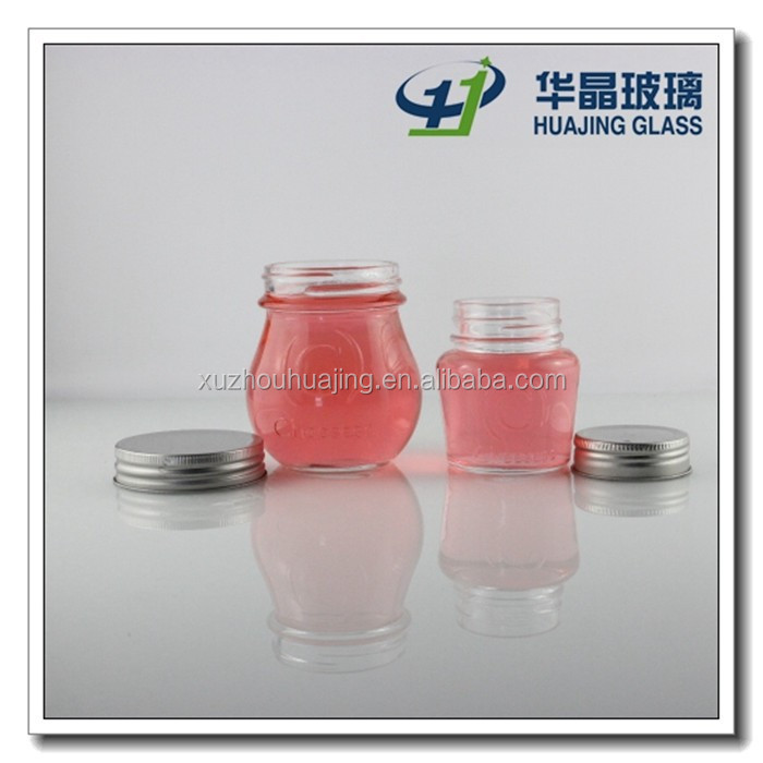 High Quality decorative candy glass jar with lid wholesale