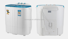 2015 double barrel double cylinder mini washing machine with strong dry dehydration/washing machine