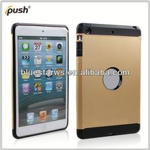 2014 New Arrival Fashion tpu cover case with stand for ipad mini tpu pc combo case