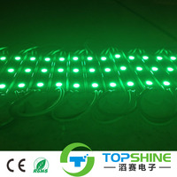 high power led injection module 3 leds 5730 smd IP65 for display cases