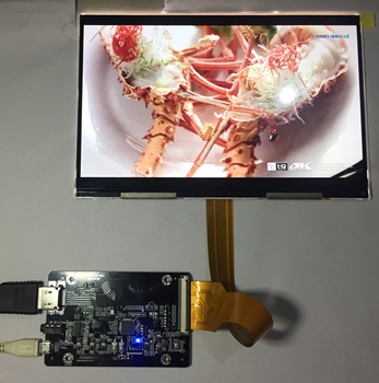 "2560x1600 8.9"" 2K LCD panel and HDMI MIPI adapter for 3D printer/VR/Head-set video play/door monitor/game accessory"