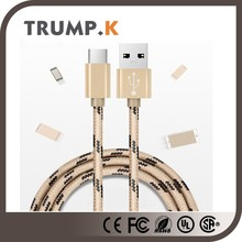 New USB 3.0 3.1 type-c male connector data cable