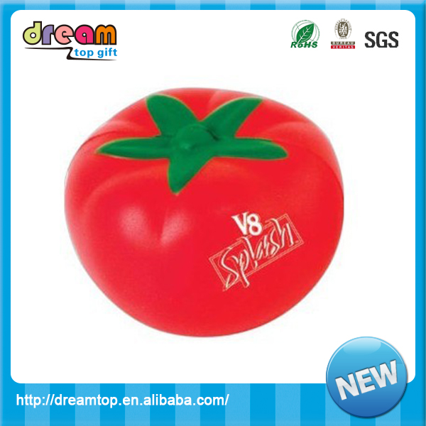 Factory Direct cheap pu grip exercise tomato stress ball anti stress cube