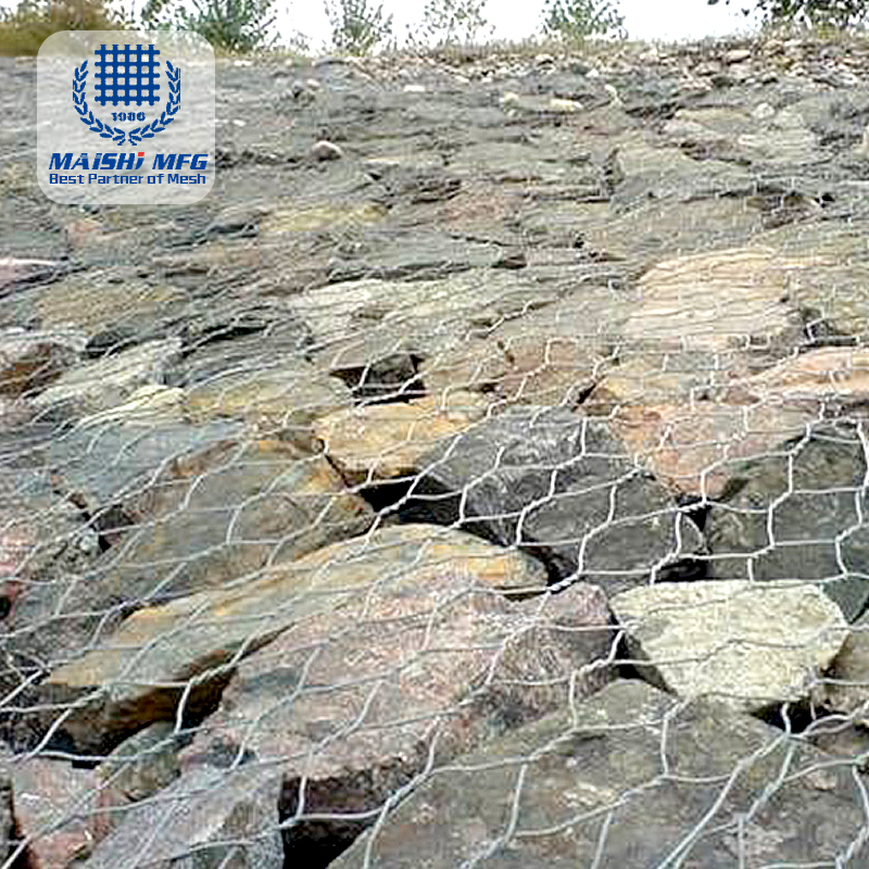 90mm x 110mm gabion box wire mesh