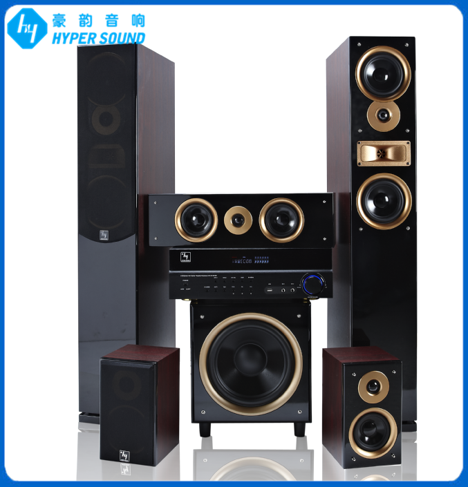 5.1ch passsive logic home theater system with active subwoofer(SP-6689A)