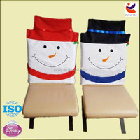 Hot sales 2014 cute christmas chair back covers ideas,christmas decoration
