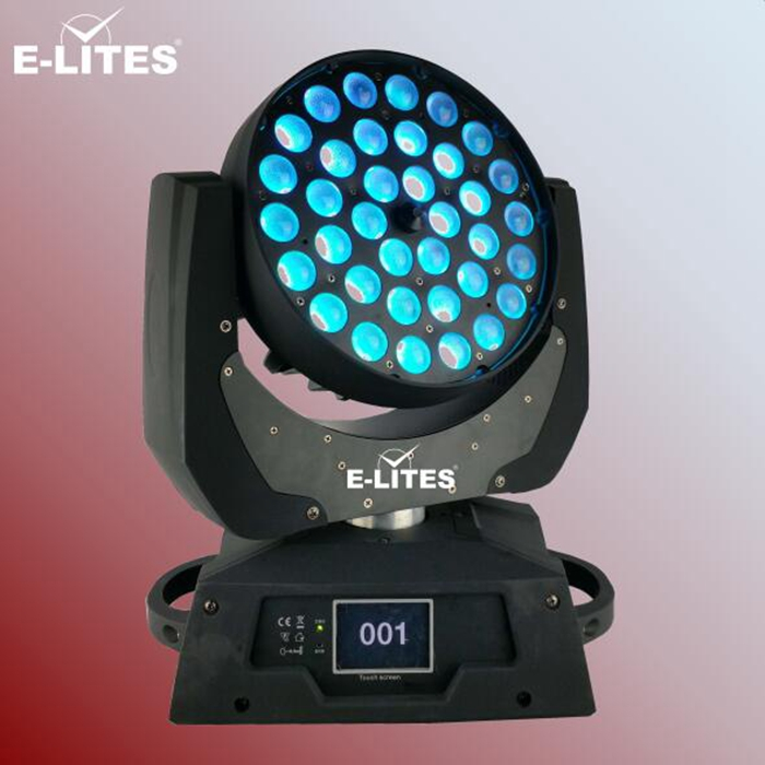 small circle led lights, led auditorium lights,party pro moving head 36x10w wash