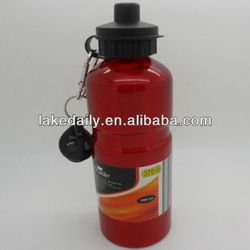 hot sale aluminum sports drink bottle with carabiner