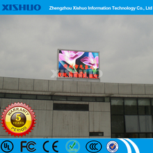 wholesale electronic giant commercial advertising outdoor ph10 full color led display module