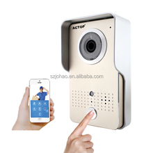 wifi door phone OEM/ODM service wirless wifi doorbell camera IOS Android 3g video door phone