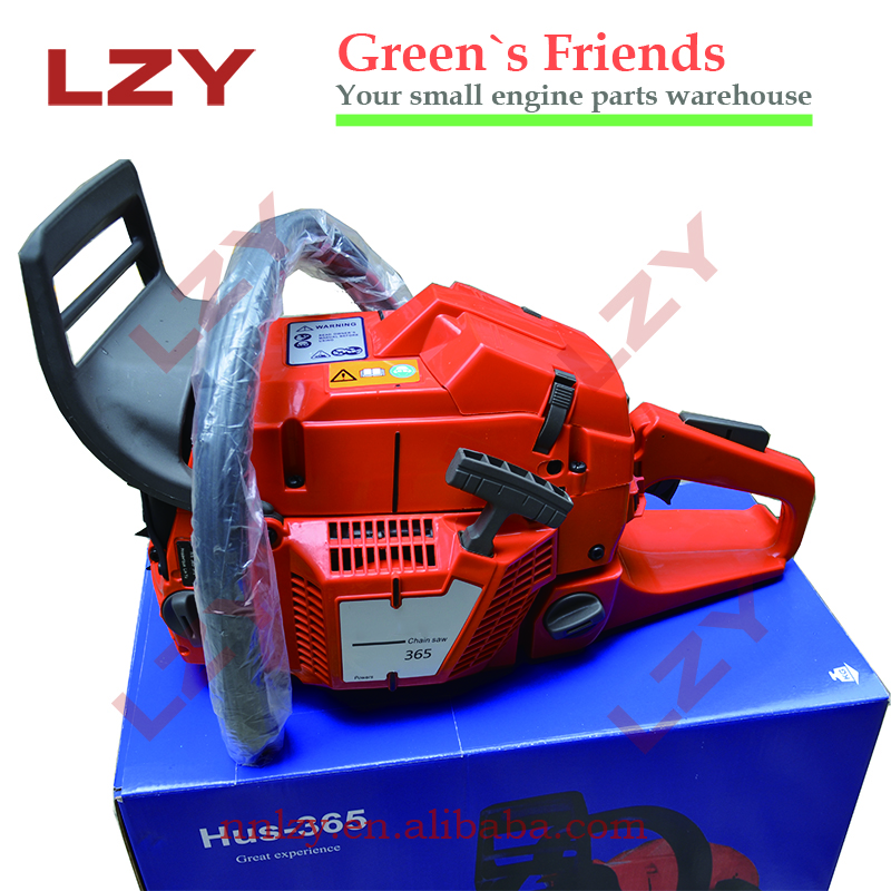 2-Stroke,Single Cylinder,Forced Air Cooling Feature and Petrol / Gas Power Type 365 chain saw