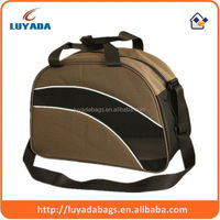 simple big outdoor durable brown basketball travel bags with mesh