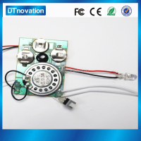 Greeting Card Sound Module With Led